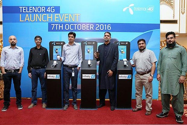 Telenor Pakistan официально запускает услугу 4G