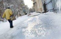 Завтра в Киеве снег и гололедица