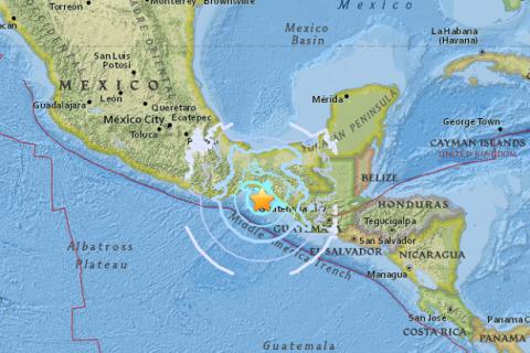 У південній Мексиці сталося два землетруси магнітудою 6,2 та 5,8