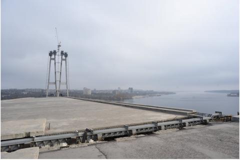 Турецька Onur виграла тендер на будівництво нового моста в Запоріжжі