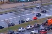 У Києві таксист на переході збив пішохода, у потерпілого - травми голови