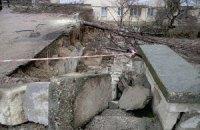 В Одессе обвалилась часть жилого дома