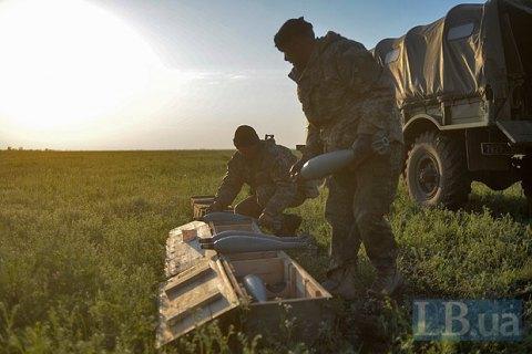 Вісім військовослужбовців поранені в результаті вибуху на полігоні в Черкаському