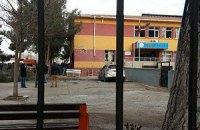 Запущенный из Сирии снаряд попал в здание турецкой школы, есть жертвы