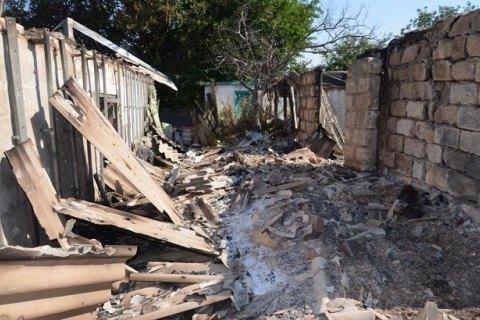 Бойовики вже другий день обстрілюють житлові будинки селища Зайцеве