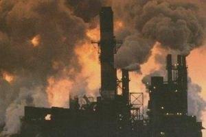 Украина все больше загрязняет атмосферу