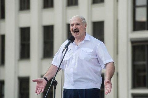 """Лукашенко заявив, що група терористів """"тоннами ввозила зброю"""" в Білорусь через Україну"""