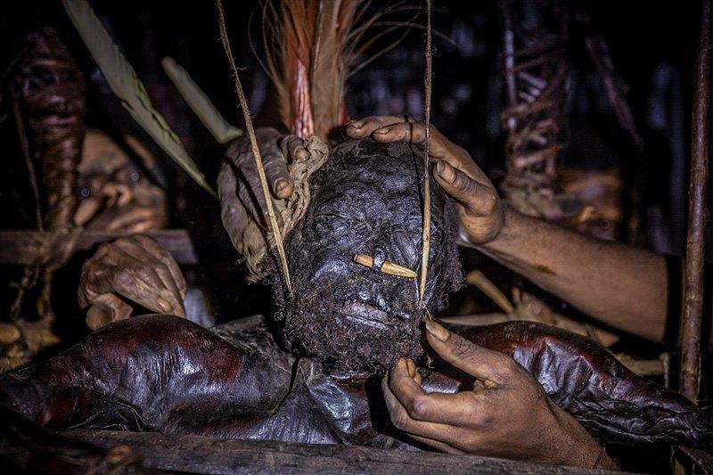 Гемтасу пожелал быть мумифицированым, чтобы оберегать семью, уже будучи духом