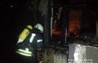 На Оболоні в Києві підпалили дитячий садок