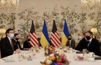 Глава МЗС Кулеба у Брюсселі зустрівся з держсекретарем США