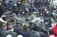 МВД назвало число пострадавших при штурме Винницкого облсовета