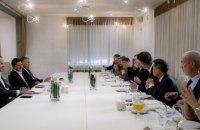 Зеленський обговорив з послами G7 реформування правоохоронних органів