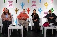 Правозащитницы Татьяна Печончик и Марта Чумало получили премию от посольства Нидерландов