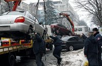 В центре Киева запретили парковаться (ОБНОВЛЕНО)