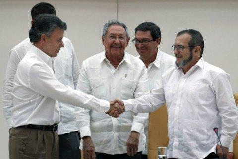 Власти Колумбии согласовали с повстанцами условия окончательного прекращения огня