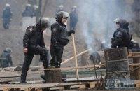 Силовики вернулись к баррикадам на Грушевского