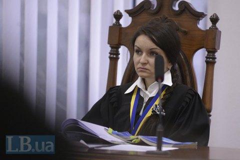 ВСЮ рекомендует Порошенко уволить судью Царевич