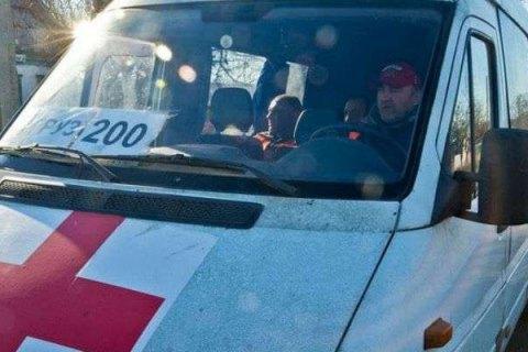"""ОБСЄ помітила фургон із написом """"Груз-200"""" на виїзді в Росію"""