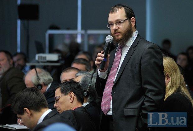 Раввин Леви Матусов, директор Европейской еврейской организации общественных отношений, Брюссель
