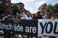 У Бостоні відбулася багатотисячна антифашистська демонстрація