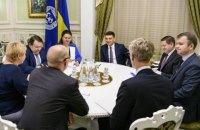 Гройсман зустрівся з делегацією МВФ