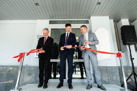 В Луцке открыли почетное консульство Литвы
