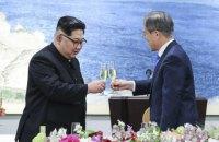 Лідер Південної Кореї вперше прибув у КНДР
