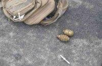 На месте тройного ДТП в Винницкой области обнаружили две гранаты
