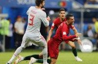 Захисник збірної Іспанії звинуватив Роналду в обмані