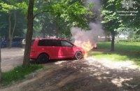 У Львові через спеку загорілися два автомобілі