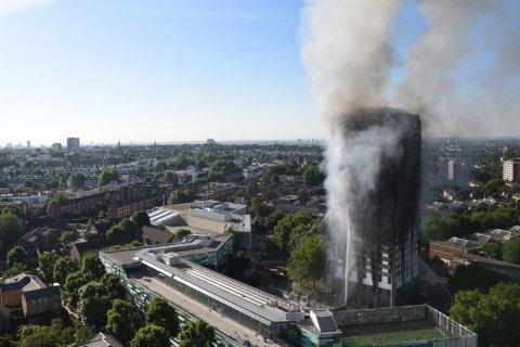 Під час пожежі вЛондоні зникло неменше 65 людей,— The Sun