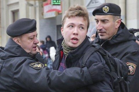 Мер 1-го сектору Бухареста запропонувала назвати вулицю, де розташоване посольство Білорусі, іменем Протасевича