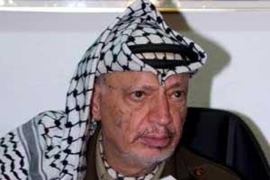 Арафат помер від крововиливу в мозок
