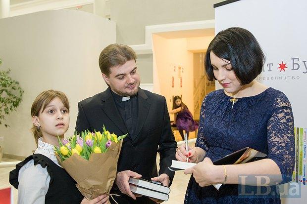 Протоиерей Олег Скнарь и Соня Кошкина