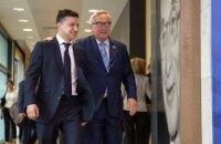"""У Єврокомісії назвали """"теплою"""" першу зустріч із Зеленським"""