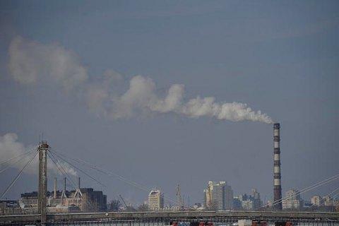 Украина установила цель по выбросам парниковых газов на 2050 год