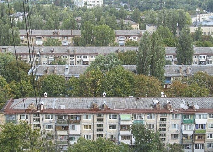 Киевские 'хрущевки' на Нивках