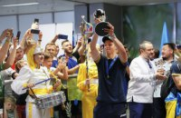 """В """"Борисполе"""" встретили молодежку, ставшую чемпионом мира по футболу"""