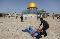 Внаслідок зіткнень у Єрусалимі постраждали понад 200 палестинських протестувальники