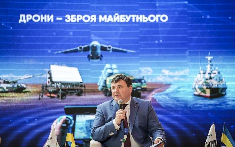 Гендиректор Державного концерну «Укроборонпром» Юрій Гусєв