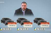 """Насиров не стал отказываться от коррупционных """"Лексусов"""" Клименко"""