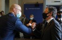 Шмыгаль заверил Блинкена в неуклонном соблюдении Украиной курса реформ