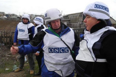 Місія ОБСЄ заявляє про складнощі доступу до Щастя через заміновану територію