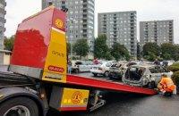 Полиция Швеции арестовала троих подозреваемых в массовом поджоге автомобилей