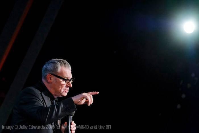 Марк Кермод на події в Британському кіноінституті