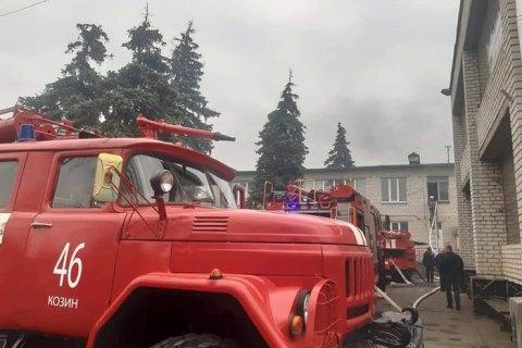 На Киевщине из-за пожара в детском саду эвакуировали 108 детей и персонал