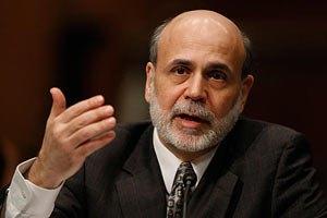 Бернанке: экономика США ослабла в 2012 году