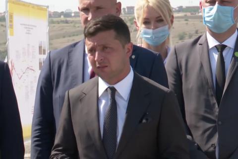 Зеленский признался, что одновременно с первой леди коронавирусом заболел их сын
