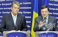 Ющенко поболтал с Баррозу о евроинтеграции