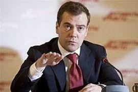 Медведеву разрешили использовать армию за границей по своему усмотрению